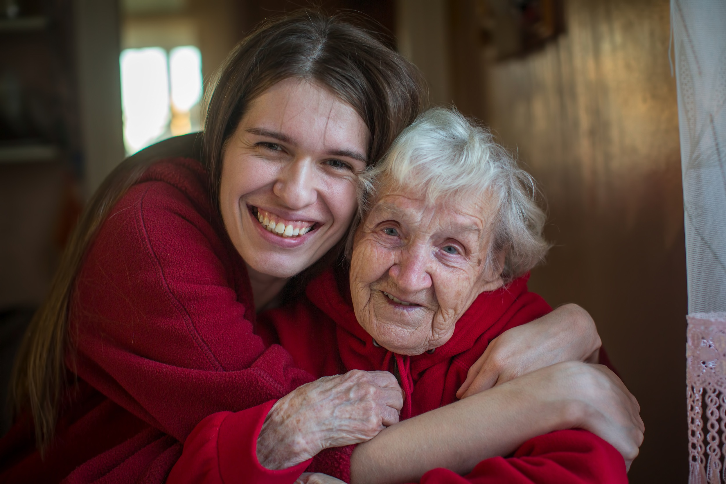 Trent Dementia image: photo of two women hugging