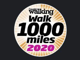 Walk 1000 Miles 2020 logo