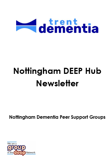 DEEP group newsletter cover