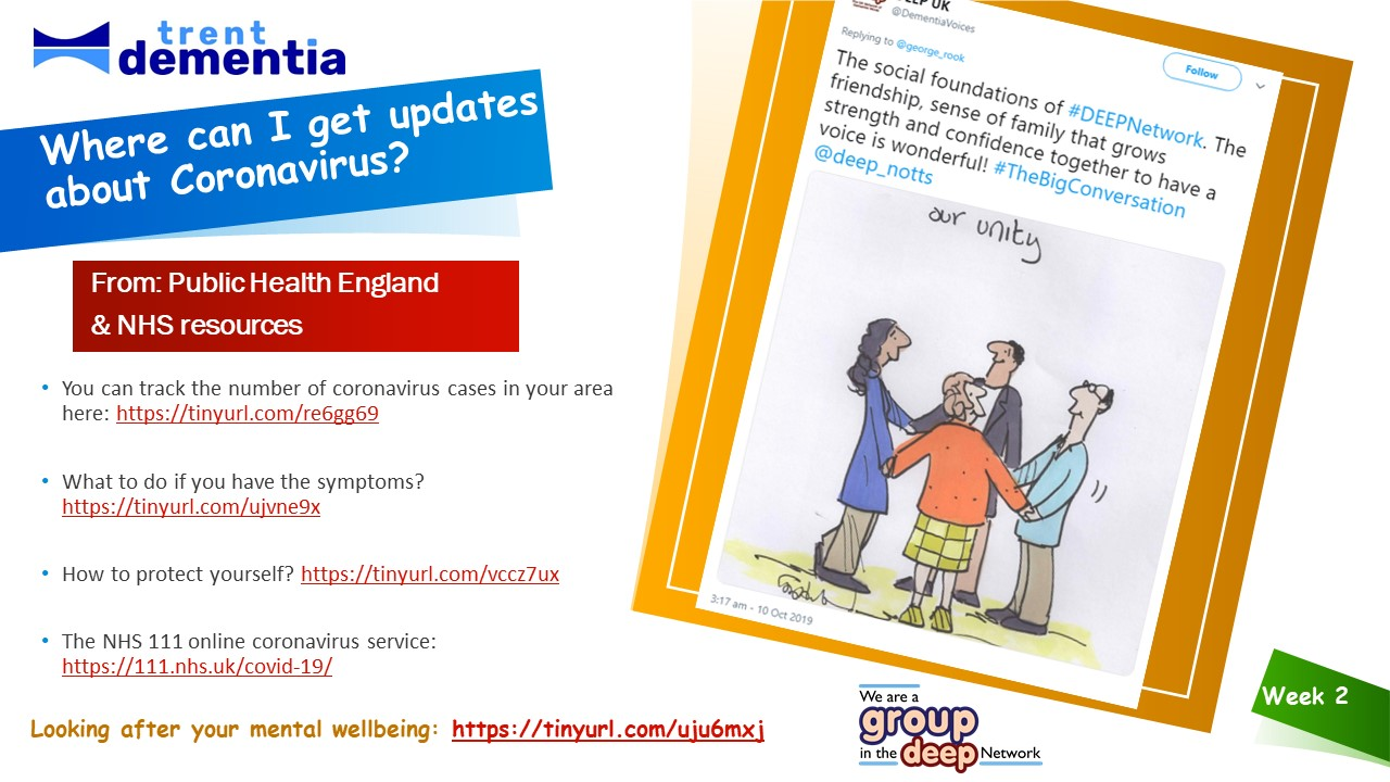 Frequently Asked Questions - where can I get updates about Coronavirus?