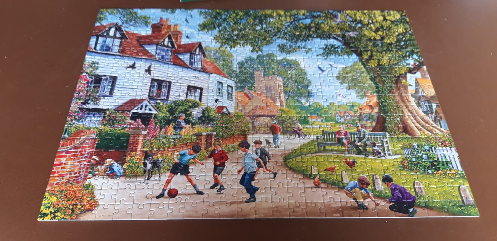 Pictures shared by dear Cynthia and Steve, facilitators of Friends for Life, jigsaws bought for our DEEP groups members. Thanks to Bring Joy Foundation that made it possible to buy the jigsaws.