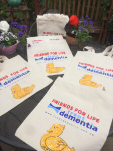 Friends for Life tote bags