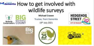 Get involved with wildlife surveys - presentation