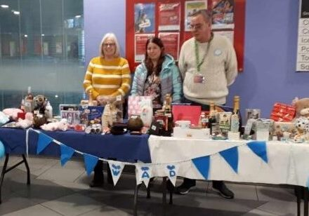 Tombola at the Sutton group